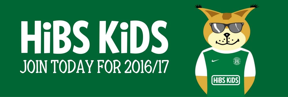 HIBS KIDS AND FUTURES MEMBERSHIPS FOR 2016/17