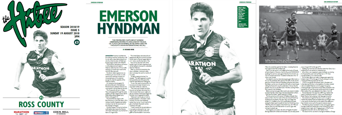 EMERSON HYNDMAN IN ISSUE 5 OF THE HIBEE