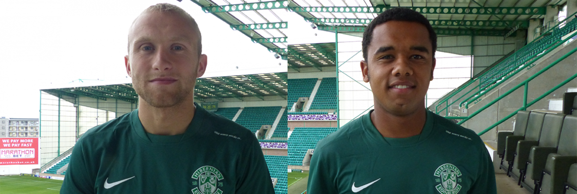 DUO TO JOIN HIBERNIAN ON LOAN