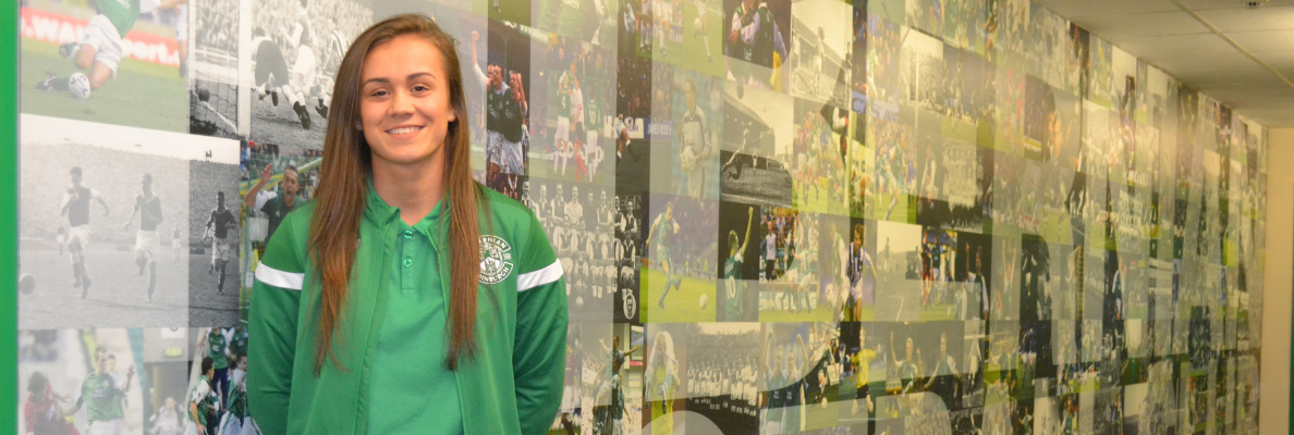 LEAH EDDIE JOINS HIBERNIAN FROM RANGERS