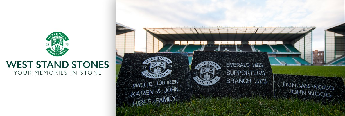 WEST STAND STONES ON SALE FOR OCTOBER INSTALL