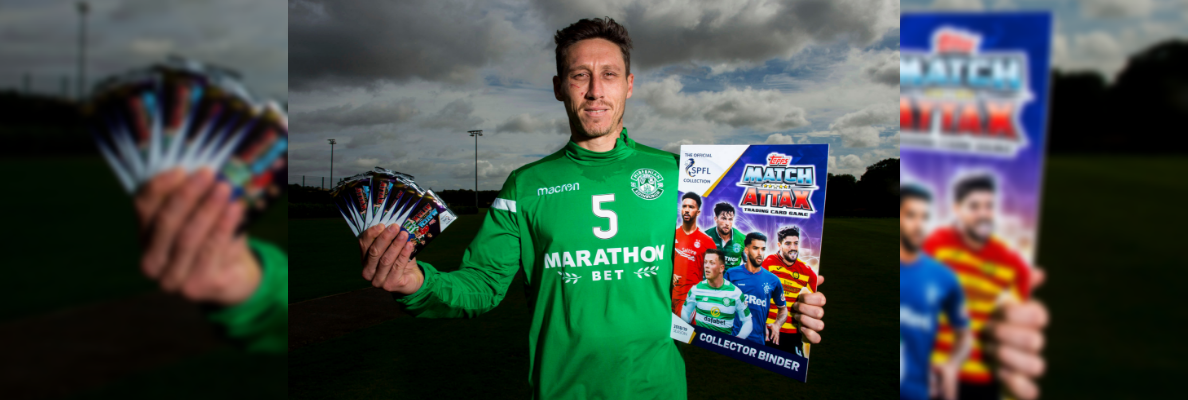 TOPPS LAUNCHES SPFL MATCH ATTAX 18/19 COLLECTION
