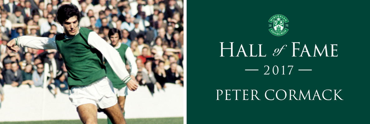 HALL OF FAME INDUCTEE | PETER CORMACK