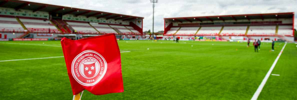 HAMILTON ACADEMICAL TICKETS NOW ON GENERAL SALE