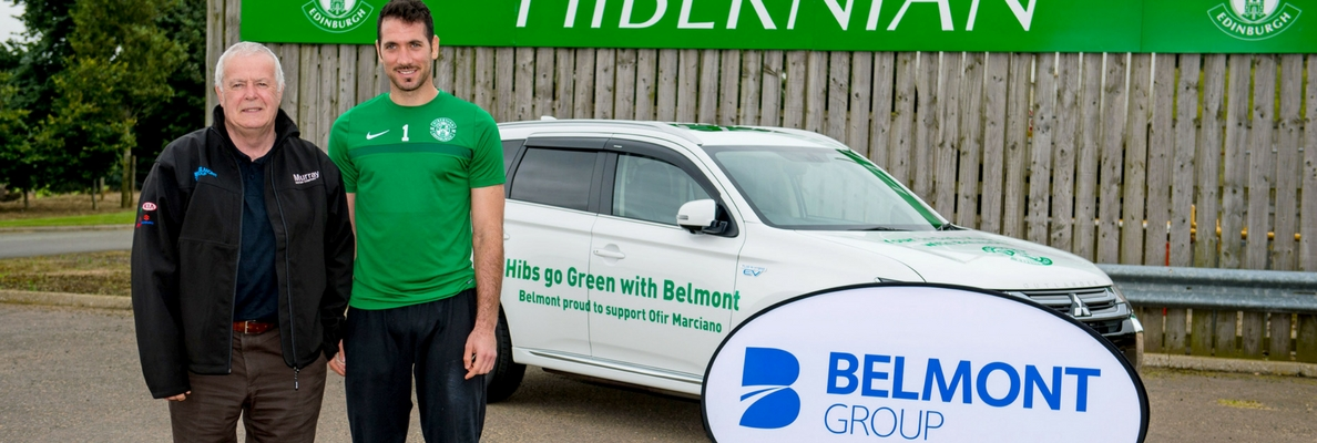MARCIANO GOES GREEN WITH BELMONT