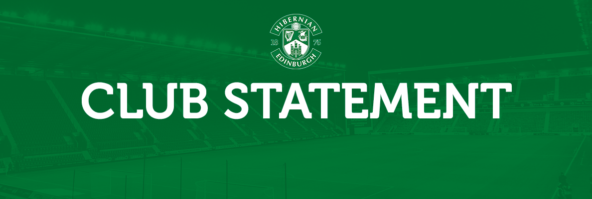 CLUB STATEMENT   2019-20 SEASON