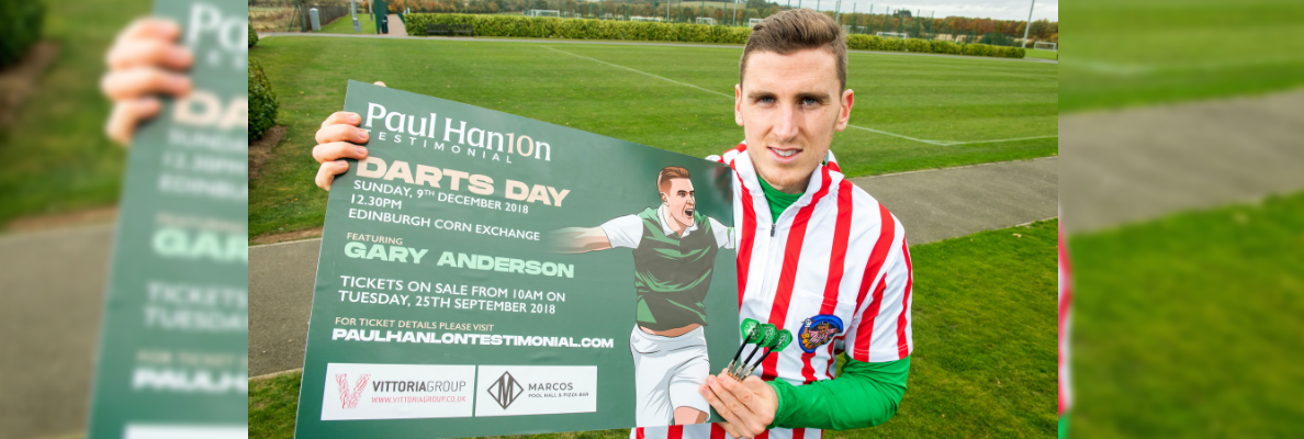 PAUL HANLON IS LOOKING FORWARD TO THE UPCOMING CHALLENGES