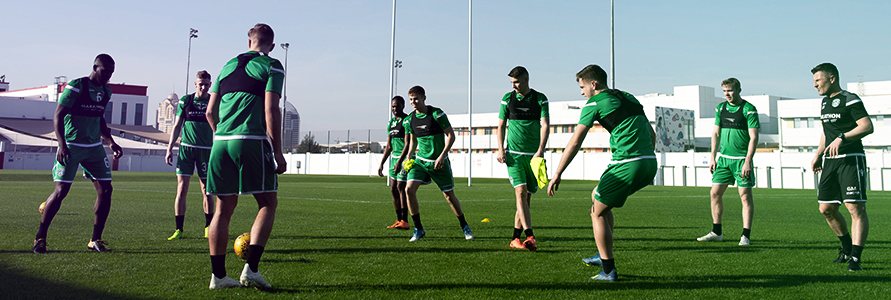 HIBERNIAN KICK OFF WINTER TRAINING CAMP