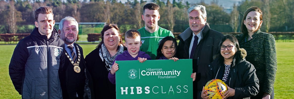 MARC MCNULTY HELPS LAUNCH HIBS CLASS