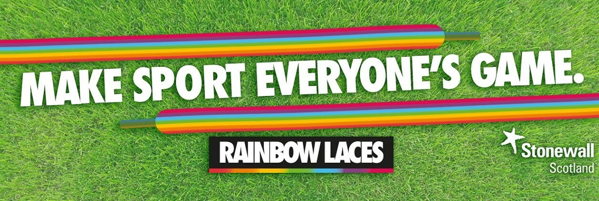 HIBERNIAN BACK STONEWALL SCOTLAND'S RAINBOW LACES CAMPAIGN