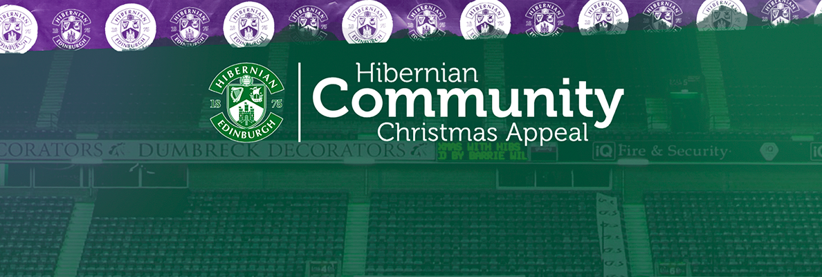 HIBERNIAN COMMUNITY FOUNDATION LAUNCH CHRISTMAS APPEAL!