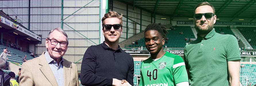 STEPHANE OMEONGA WINS NEWTOWN DECOR PLAYER OF THE MONTH FOR MARCH