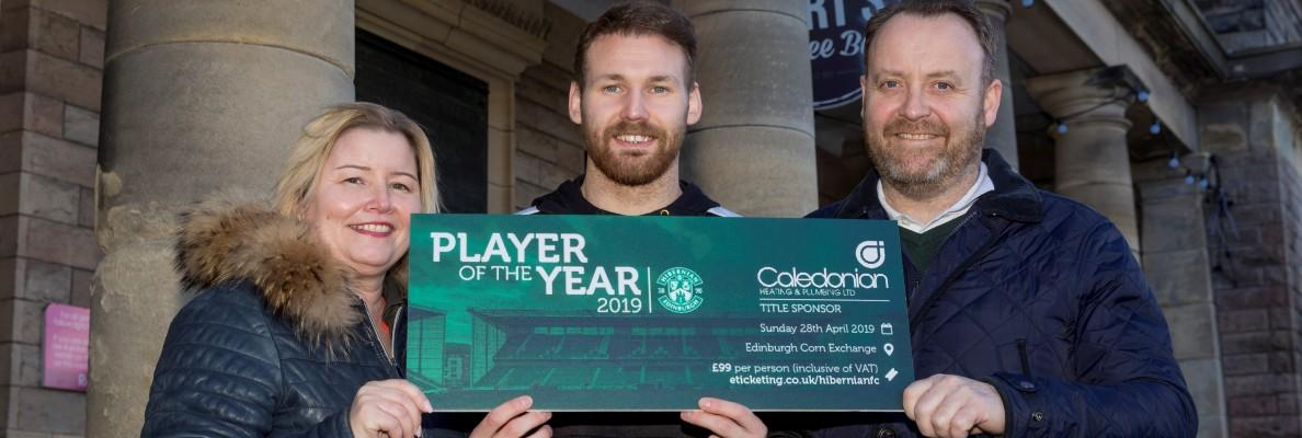 CALEDONIAN HEATING & PLUMBING CONFIRMED AS PLAYER OF THE YEAR TITLE SPONSORS