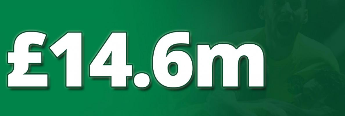 £14.6M UP FOR GRABS WITH HIBERNIAN LOTTO