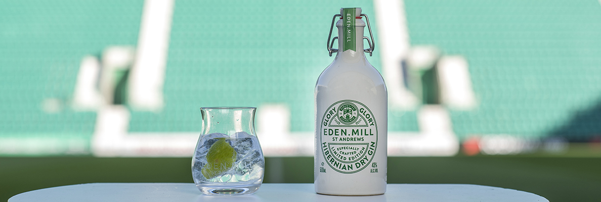 INTRODUCING EDEN MILL'S 'GLORY GLORY HIBERNIAN DRY GIN'
