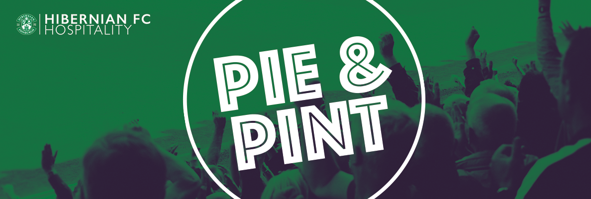 PIE AND A PINT RETURNS FOR ST MIRREN MATCH