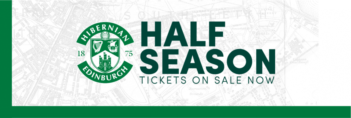 DON'T MISS THE SECOND HALF - HALF SEASON TICKETS ON SALE