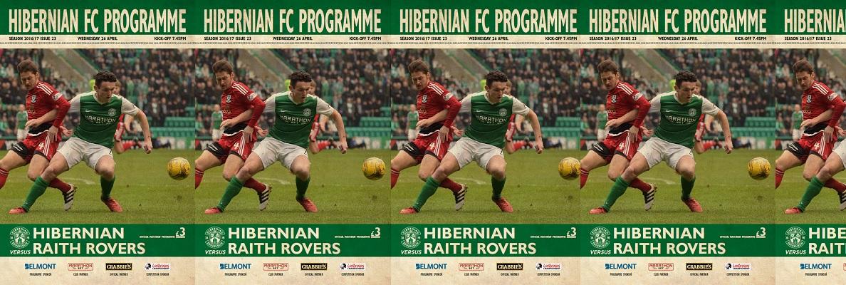 HIBERNIAN FC PROGRAMME ISSUE 23
