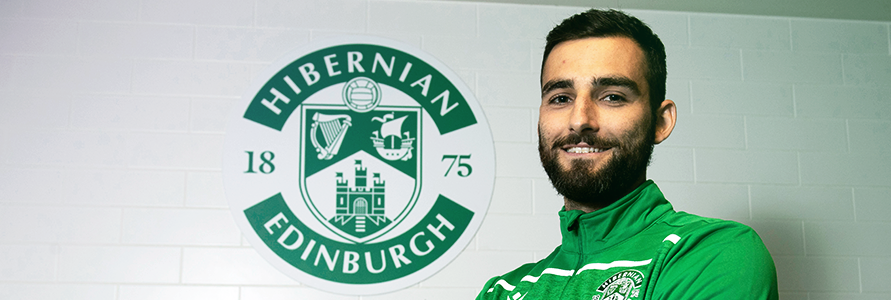 ADAM JACKSON TALKS TO HIBS TV