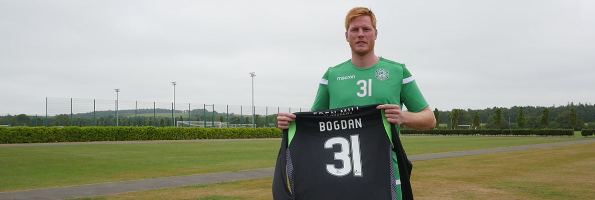 HIBERNIAN SIGN ADAM BOGDAN ON LOAN