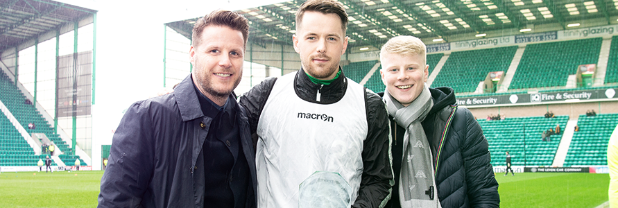 MARC MCNULTY WINS NEWTOWN DECOR PLAYER OF THE MONTH FOR FEBRUARY