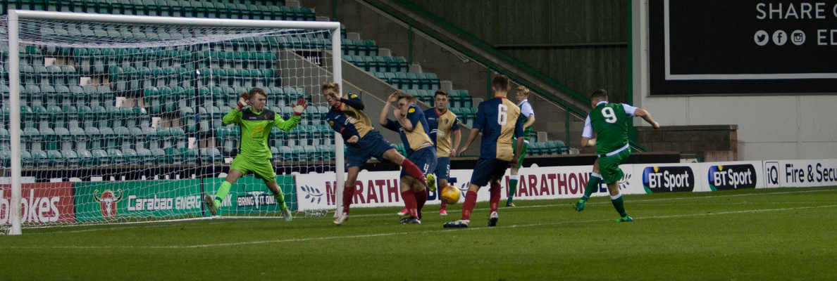 HIBERNIAN TO FACE CELTIC IN SFA YOUTH CUP SEMI-FINAL