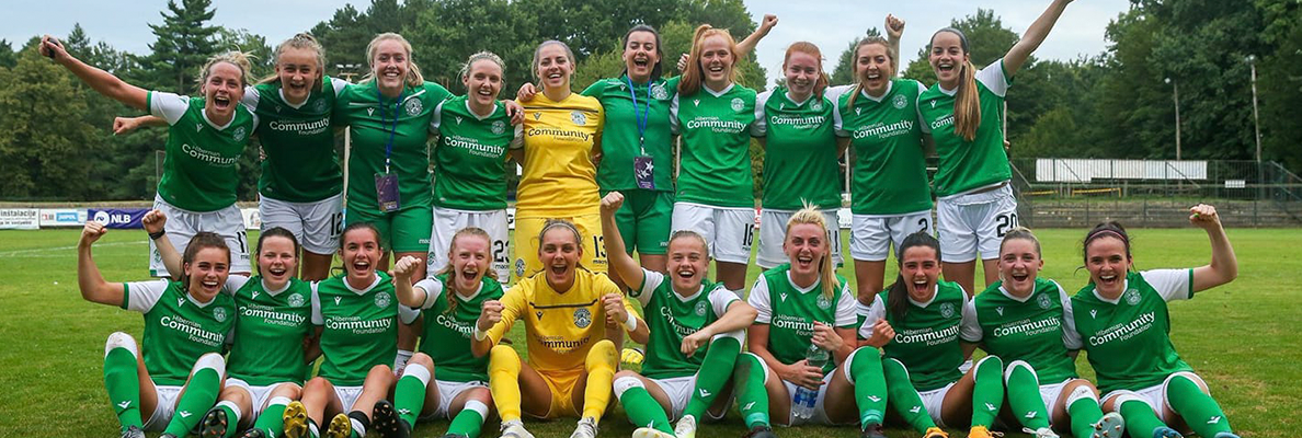 HIBERNIAN LADIES LEARN CHAMPIONS LEAGUE FATE!