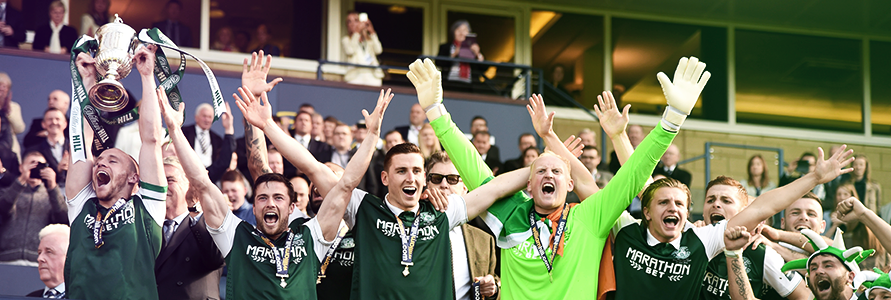 HIBEE MOMENTS: DAVID GRAY ON HIS LOVE OF THE SCOTTISH CUP