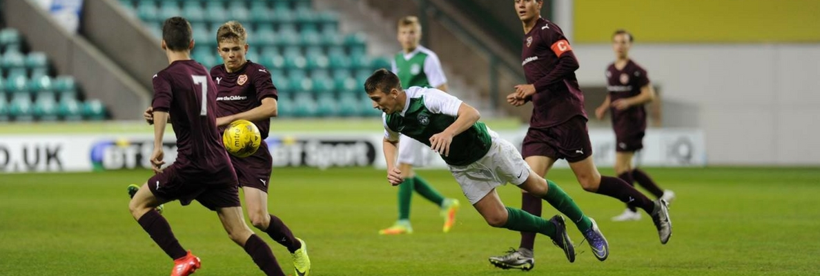 HIBERNIAN LOSE IN EAST OF SCOTLAND SHIELD