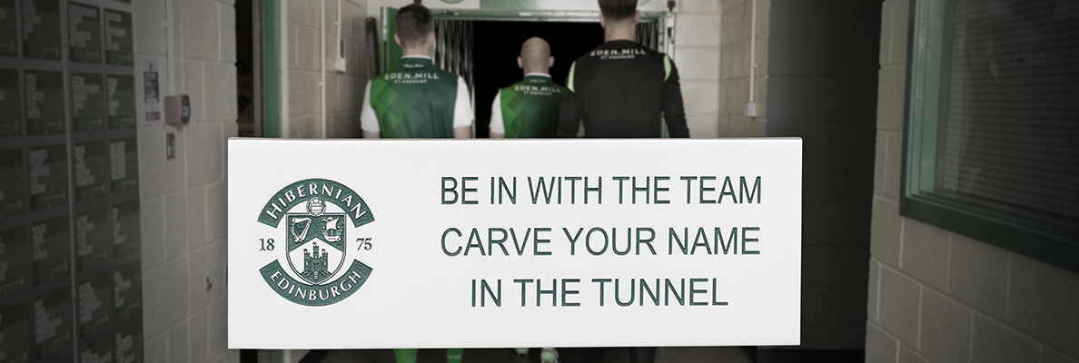 BE IN WITH THE TEAM WITH A TUNNEL ZONE TILE