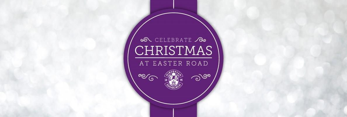 CHRISTMAS PARTIES AVAILABLE TO BOOK AT EASTER ROAD THIS DECEMBER