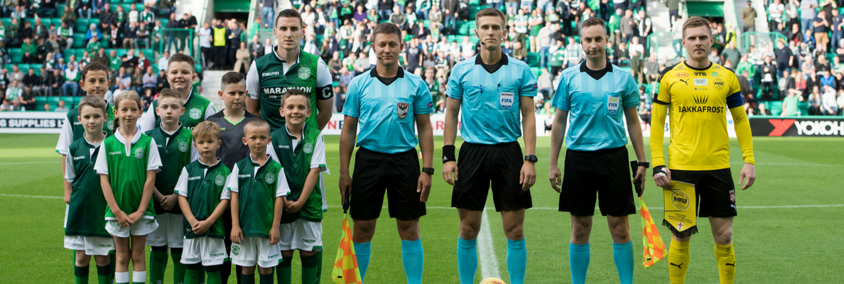 EUROPA LEAGUE MASCOT PACKAGES AVAILABLE FOR MATCH VS MOLDE FK