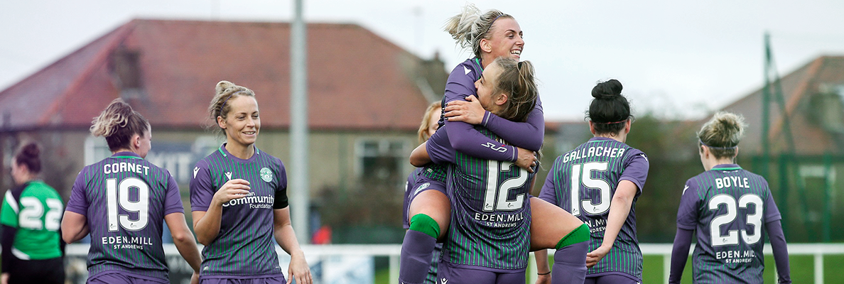MATCH REPORT | HIBERNIAN LADIES 7-2 STIRLING UNIVERSITY