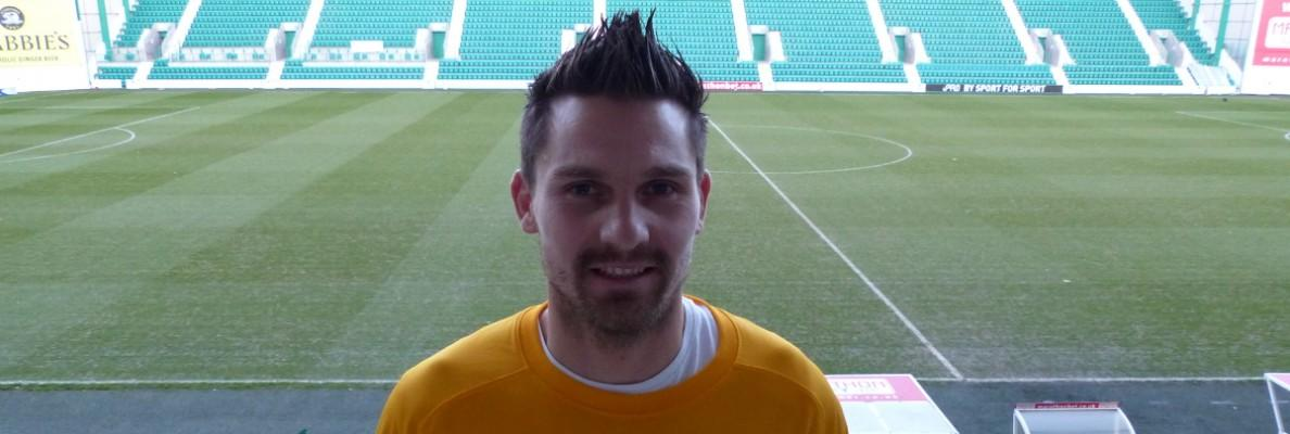 GOALKEEPER CERNY JOINS HIBERNIAN