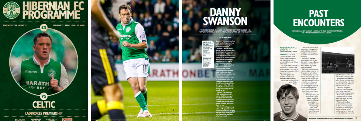 ISSUE 21 OF THE HIBERNIAN FC PROGRAMME