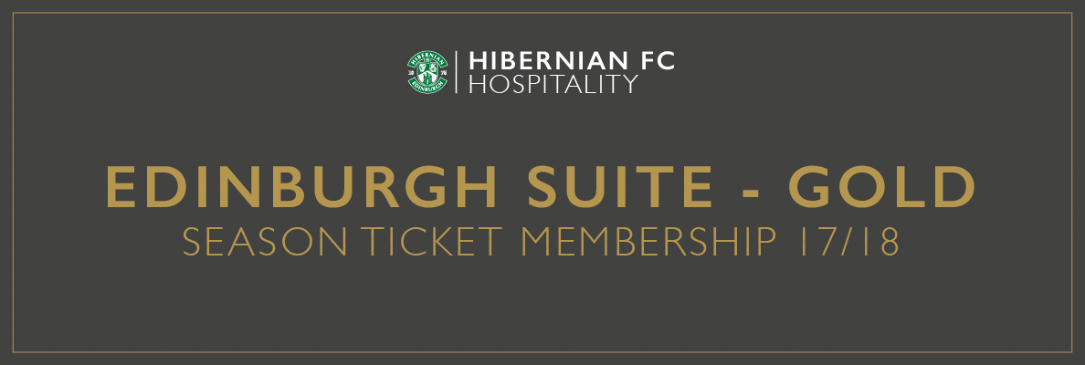 HOSPITALITY PACKAGES FOR 2017/18 ON SALE NOW