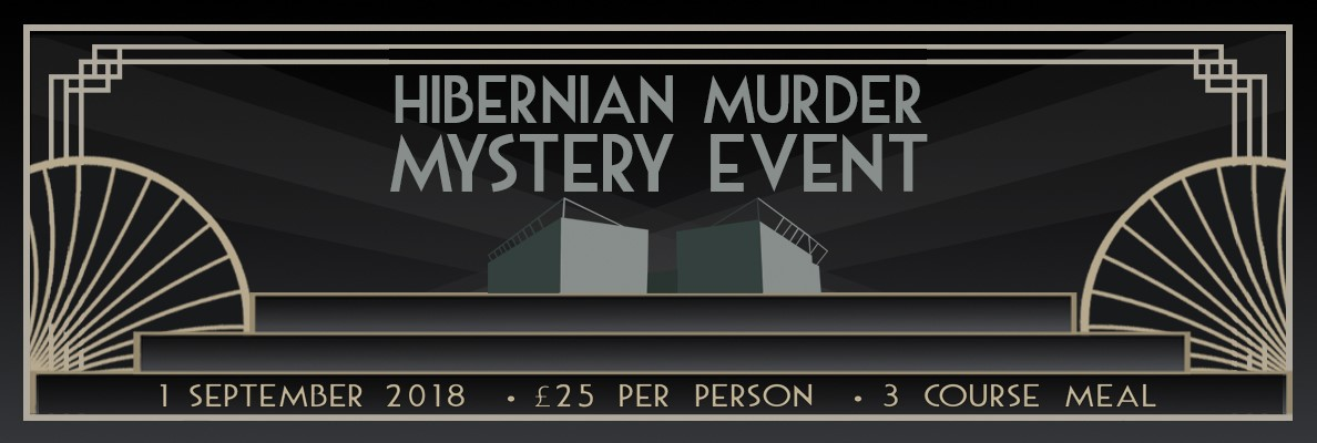 SOLVE A MURDER AT EASTER ROAD THIS SEPTEMBER