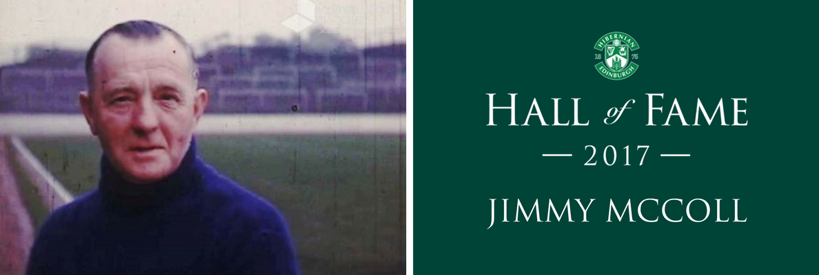 HALL OF FAME INDUCTEE | JIMMY MCCOLL
