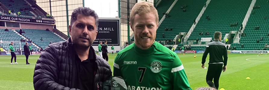 DARYL HORGAN WINS VEEN BARBERS GOAL OF THE MONTH FOR APRIL