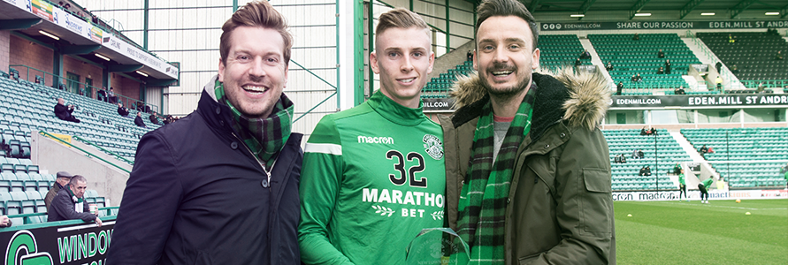 OLI SHAW VOTED NEWTOWN DECOR PLAYER OF THE MONTH FOR JANUARY