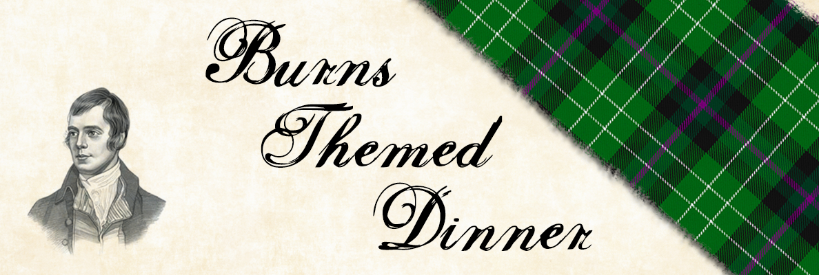BURNS THEMED DINNER TICKETS ON SALE NOW