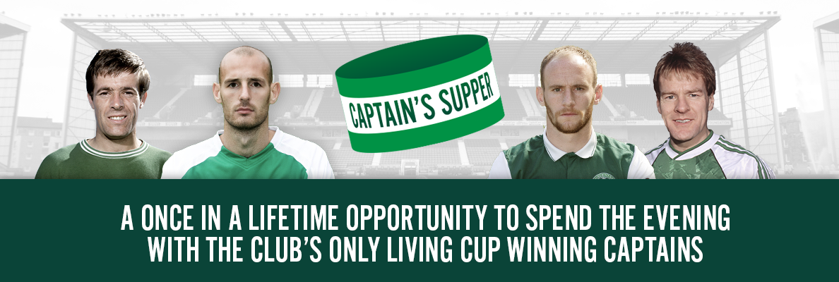CAPTAIN'S SUPPER SOLD OUT