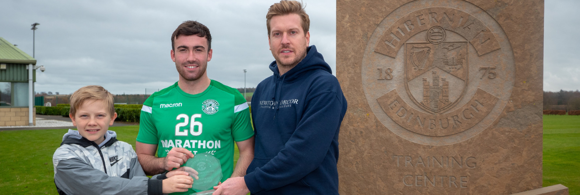 STEVIE MALLAN WINS NEWTOWN DECOR PLAYER OF THE MONTH