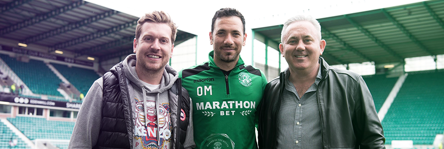 OFIR MARCIANO WINS NEWTOWN DECOR PLAYER OF THE MONTH FOR APRIL