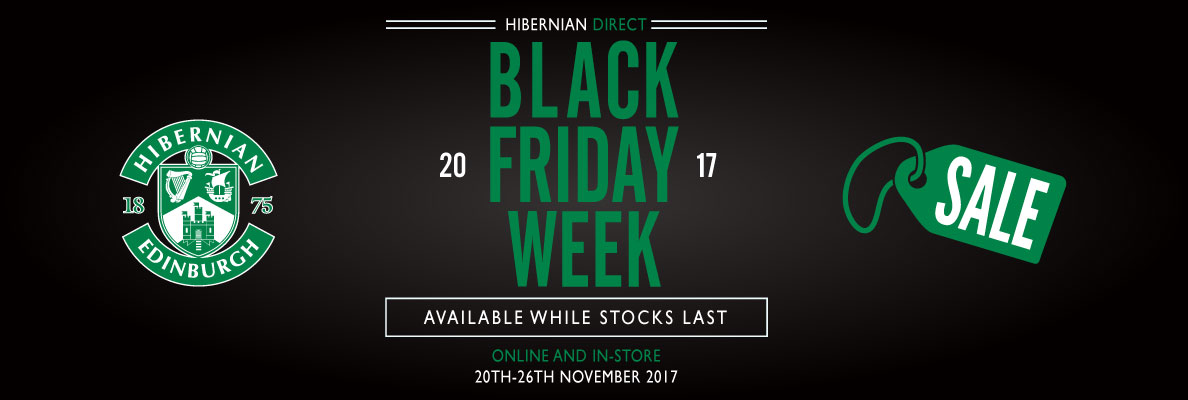 HIBERNIAN CLUBSTORE OPEN THIS SUNDAY