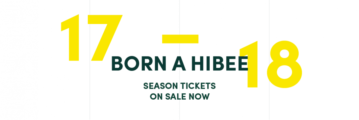 BORN A HIBEE CAMPAIGN LAUNCHED FOR 2017-18