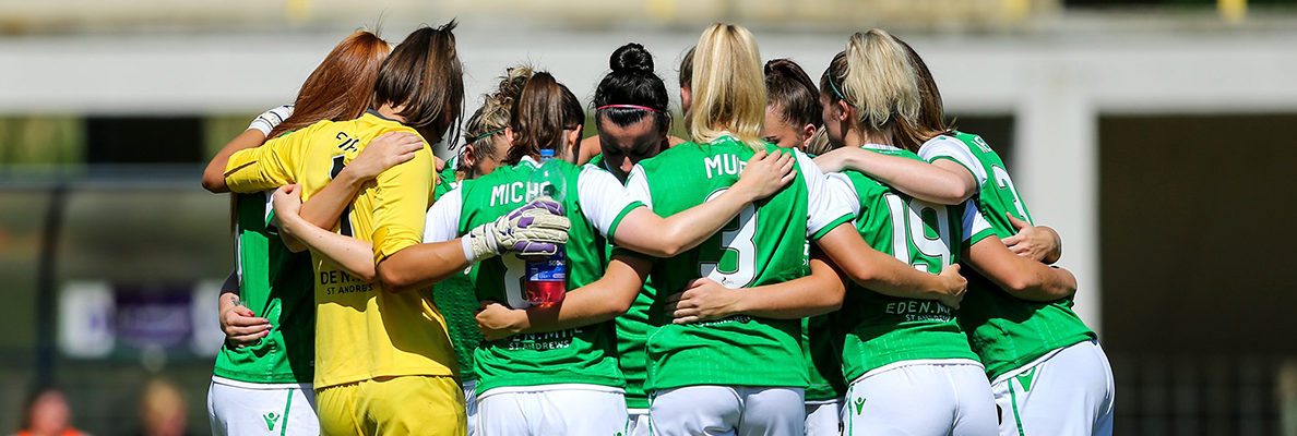 HIBERNIAN LADIES LEARN SSE SCOTTISH WOMEN'S CUP FATE