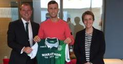 FLO KAMBERI SIGNS THREE-YEAR DEAL WITH HIBERNIAN