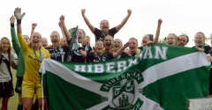 NAPIER REFLECTS ON A SUCCESSFUL START TO HER HIBERNIAN CAREER