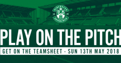 PLAY ON THE PITCH - JUST TWO SPACES LEFT